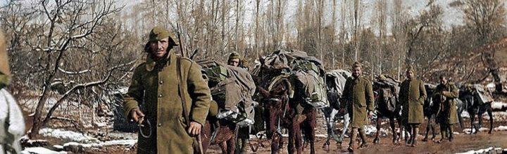 Επιστροφή από το μέτωπο του πολέμου ΄40-΄41